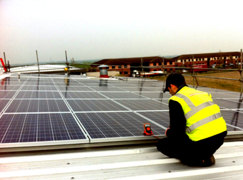Commercial solar photovoltaic systems