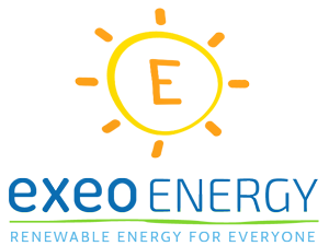 Exeo Energy Logo - Renewable Energy for Everyone
