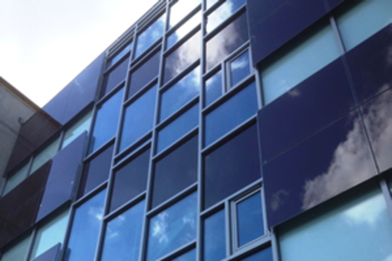 Poly Solar's BIPV facade at the Future Business Centre in Cambridge