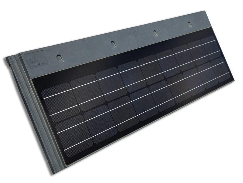Solar Century roof tile in detail
