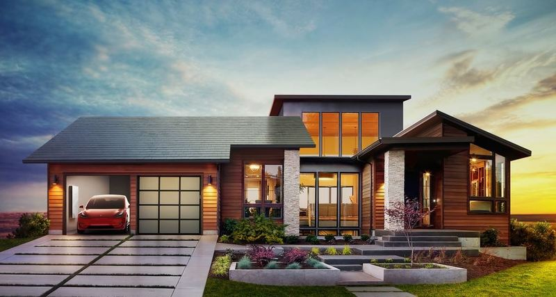A great looking Solar Roof System from Tesla Energy
